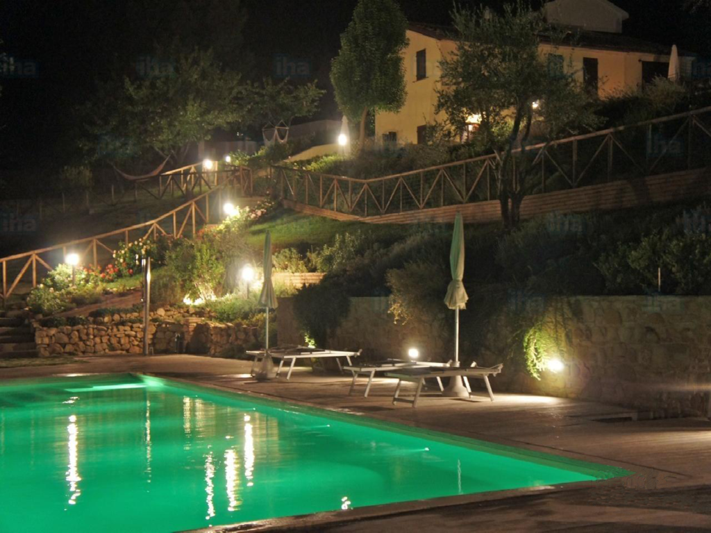 eclairage terrasse pour piscine en Bretagne Déméter paysagisme