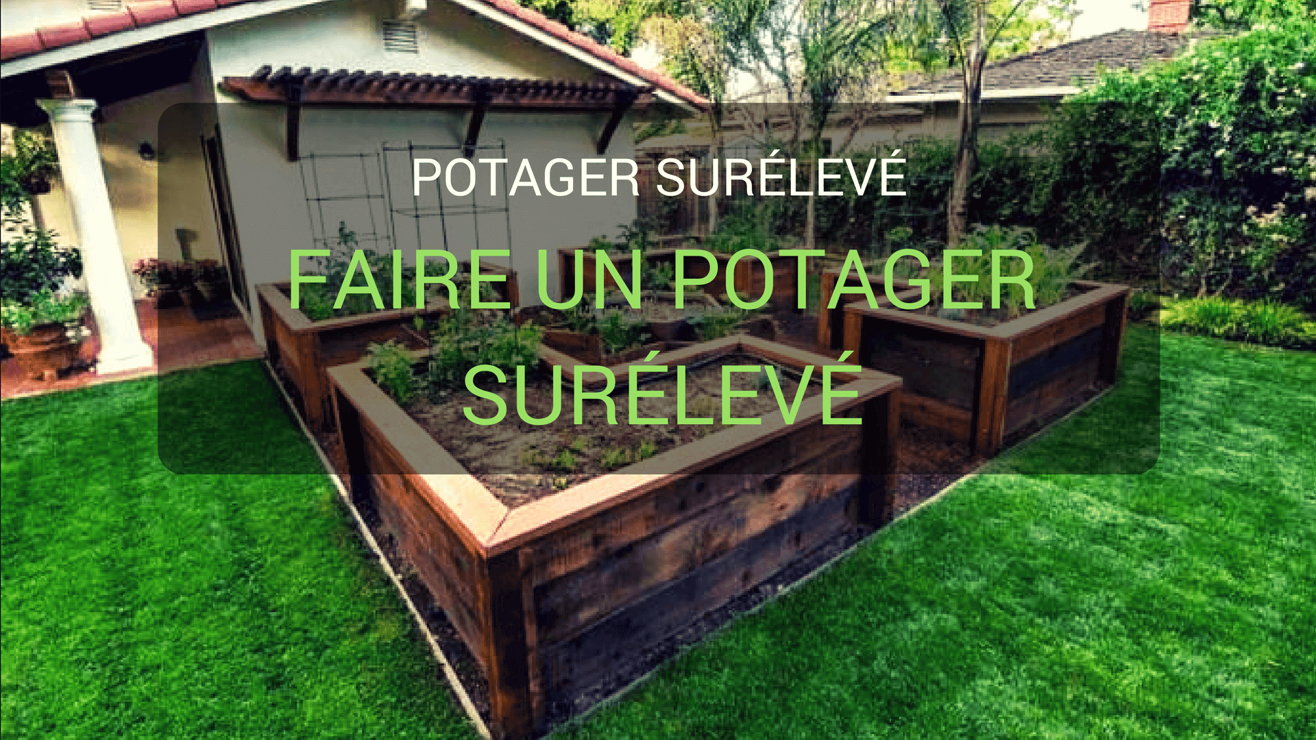 Bac potager sur lev fashion designs for Bac jardinage sureleve