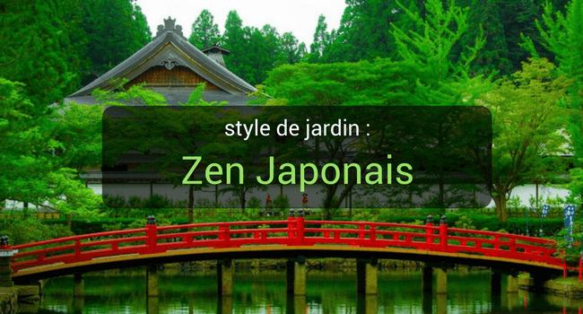 Styles de jardin : Zen Japonais