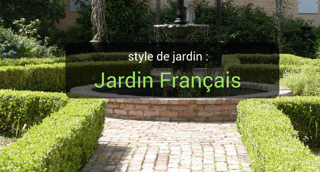 jardin style français