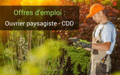 Paysagiste vannes d m ter paysagisme concepteur for Emploi paysage