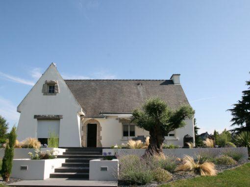 Rénovation de terrasse et allée de jardin à St-avé