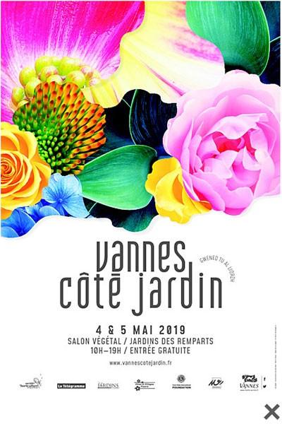 Vannes côté jardin, salon végétale le 4 et 5 mai 2019