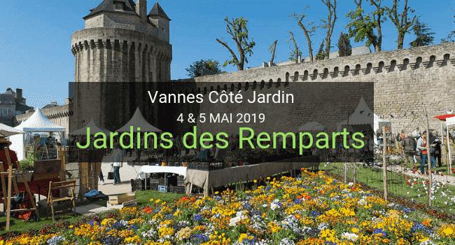 Demeter Paysagisme au Salon végétal Vannes Côté Jardin en mai.