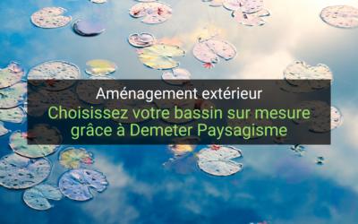 Choisissez votre bassin sur mesure grâce à Demeter Paysagisme