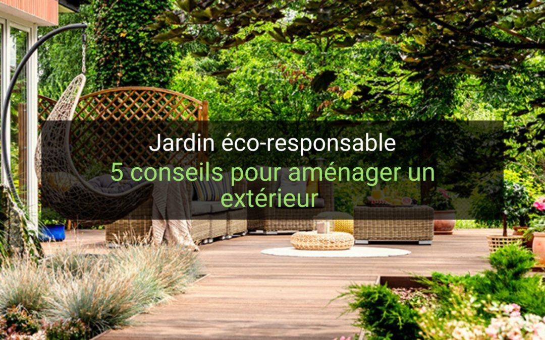 5 conseils pour aménager un jardin éco-responsable