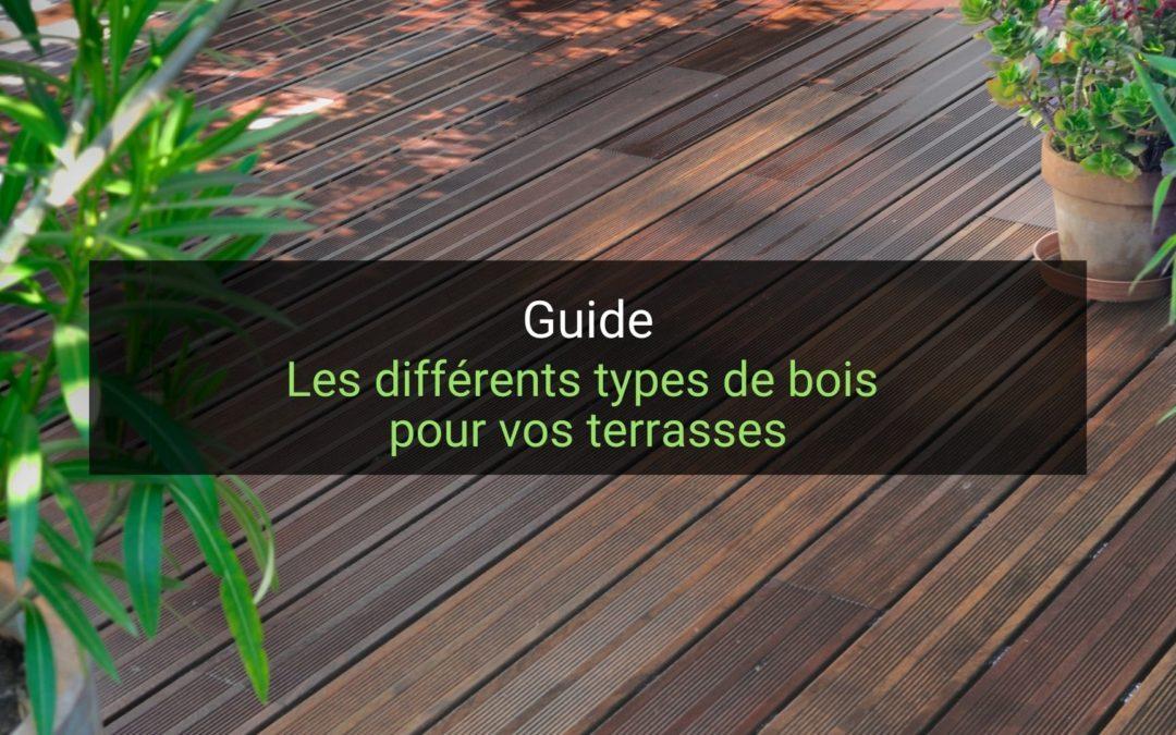 Les différents types de bois pour vos terrasses